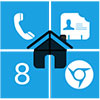 Home8 like Windows 8 launcher Apk Full 3.8.1 Android